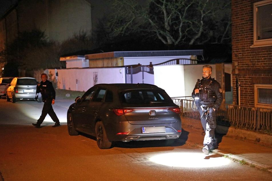Die Polizei ist in Rostock-Dierkow im Einsatz.