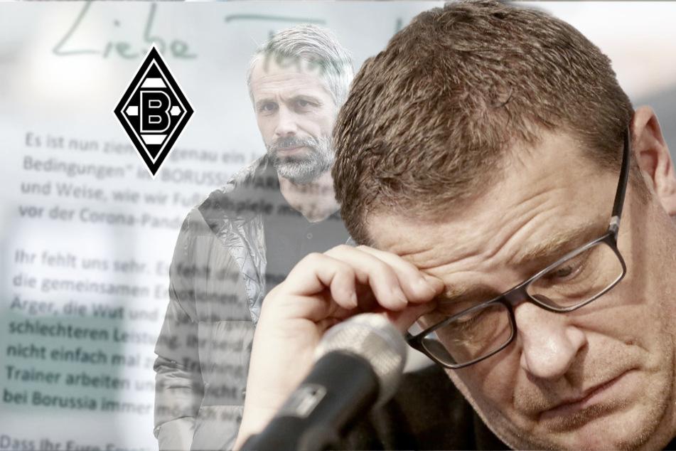 Gladbach am Abgrund? Eberl mit offenem Brief an die Fans!