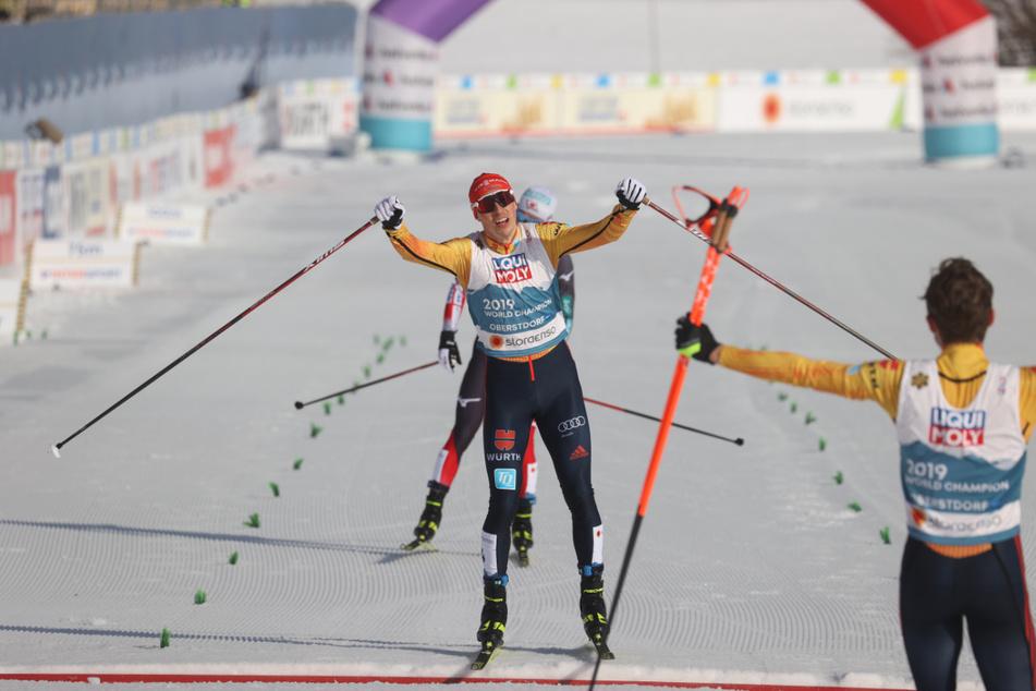 """Bronze im Teamsprint bei Ski-WM in Oberstdorf: """"Fühlt sich an wie eine Goldene gerade"""""""