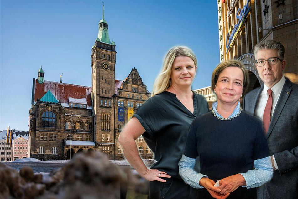 Chemnitz: Gesucht werden drei neue Bürgermeister: Im Rathaus beginnt bald das Stühlerücken