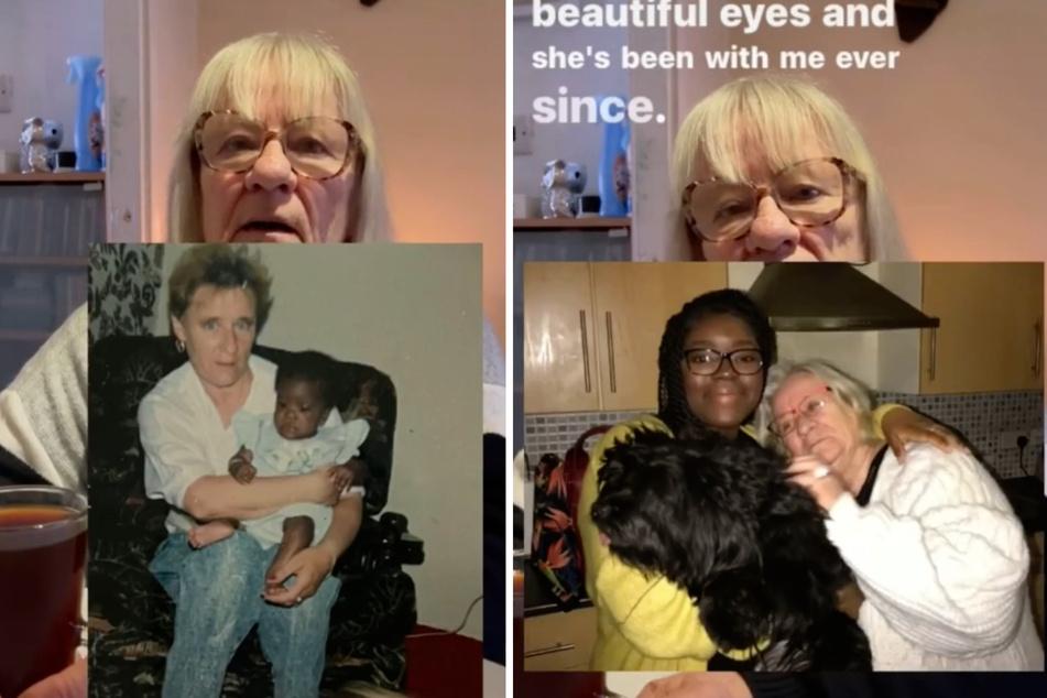 Heute ist sie selbst Mutter: Im Mai 1990 adoptierte sie Lola.