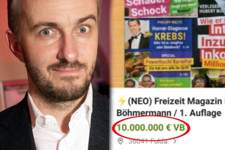 Mega-Irrsinn um Jan Böhmermanns Klatschmagazin, Oliver Pocher total verzweifelt