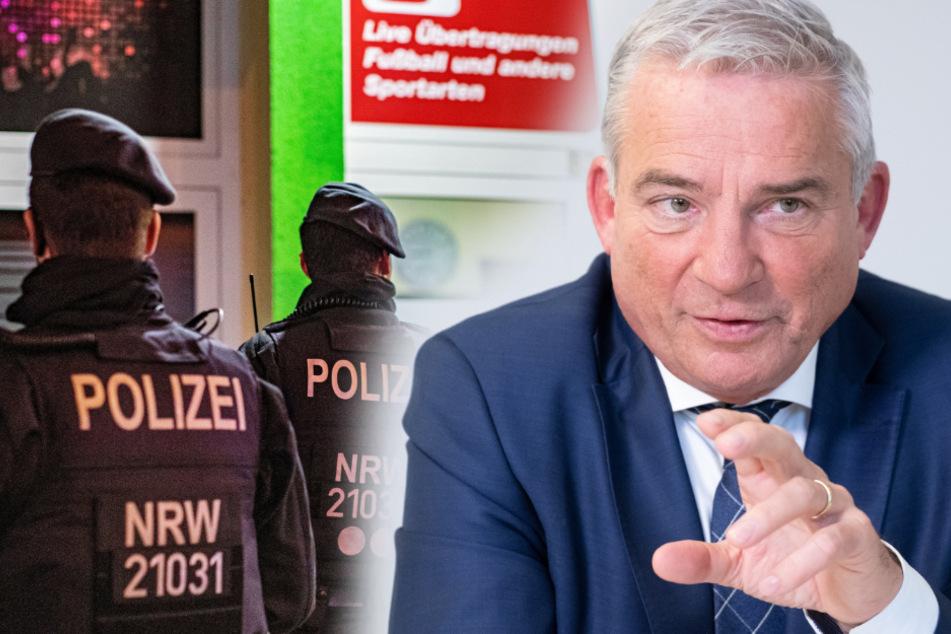 """Innenminister Strobl: """"Clan-Kriminalität schon im Keim ersticken"""""""
