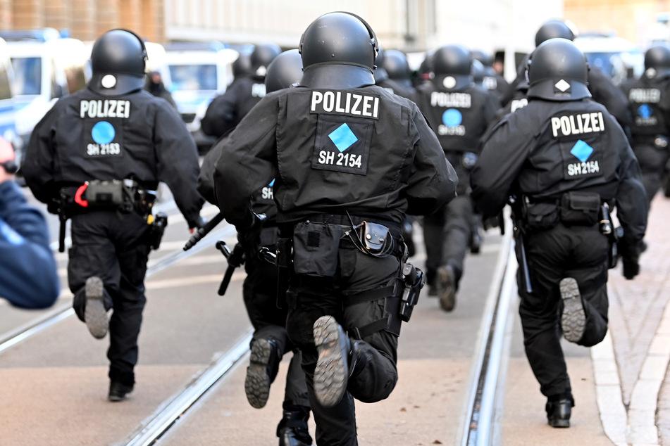 In Sachsen gibt es immer mehr Gewalt gegen Polizisten: Corona sorgt für mehr Straftaten