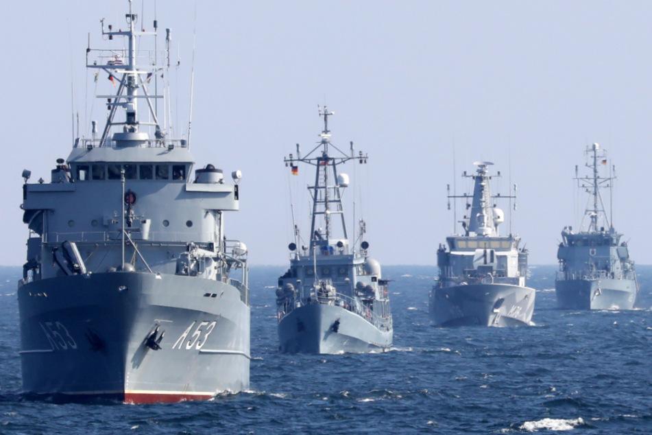 Bundeswehr muss große Militär-Übung in der Ostsee absagen