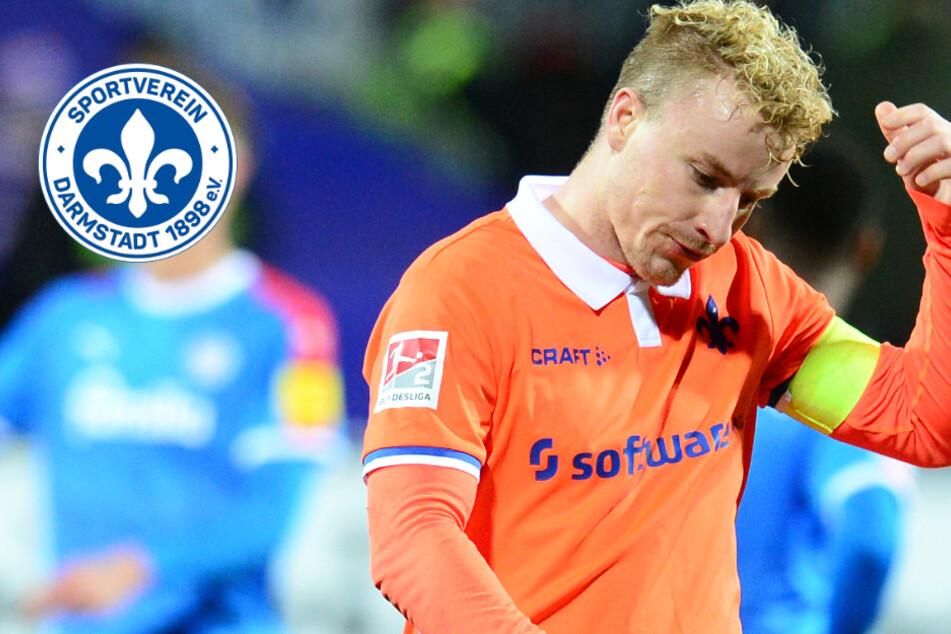 SV Darmstadt 98: Muss Kapitän Holland das Quarantäne-Training abbrechen?