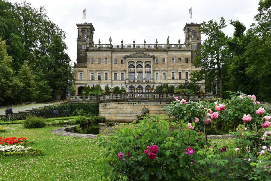Ort der Veranstaltung: Schloss Albrechtsberg.