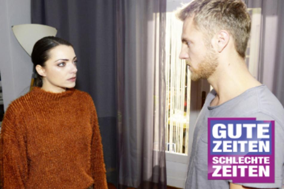 Leidenschaftliche Küsse bei GZSZ: Ehe-Aus bei Emily und Paul?
