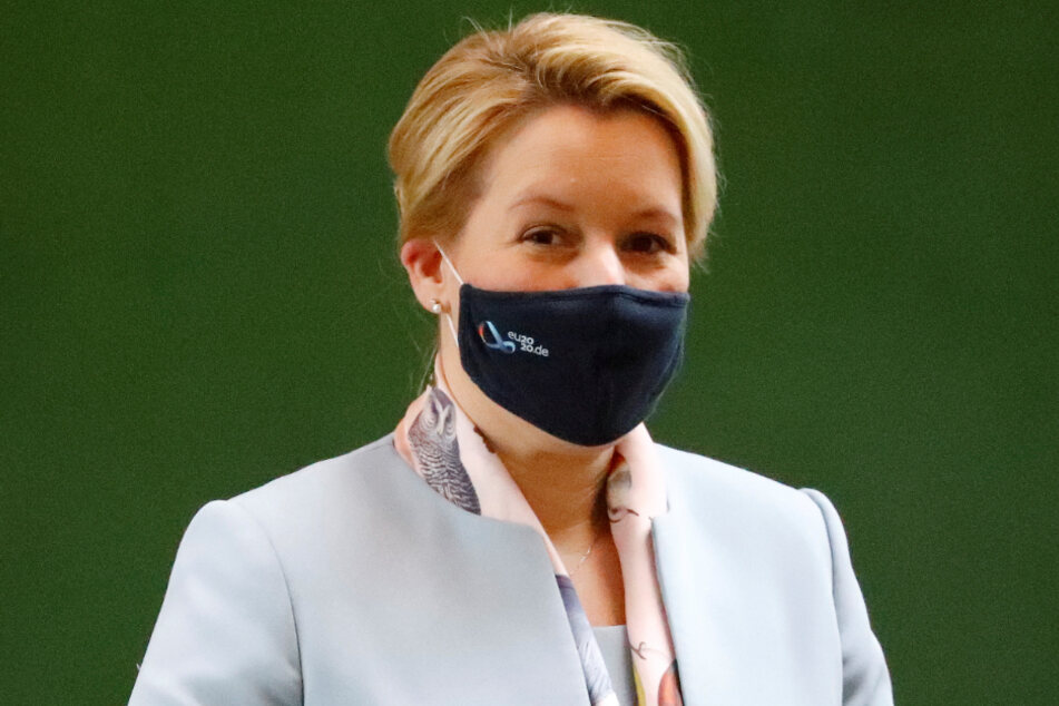 Bundesfamilienministerin Franziska Giffey (42, SPD).