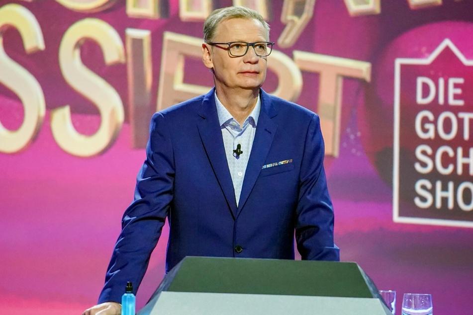 """Günther Jauch (64) ist mit dem Coronavirus infiziert und verpasst deshalb auch die zweite RTL-Live-Show von """"Denn sie wissen nicht, was passiert""""."""