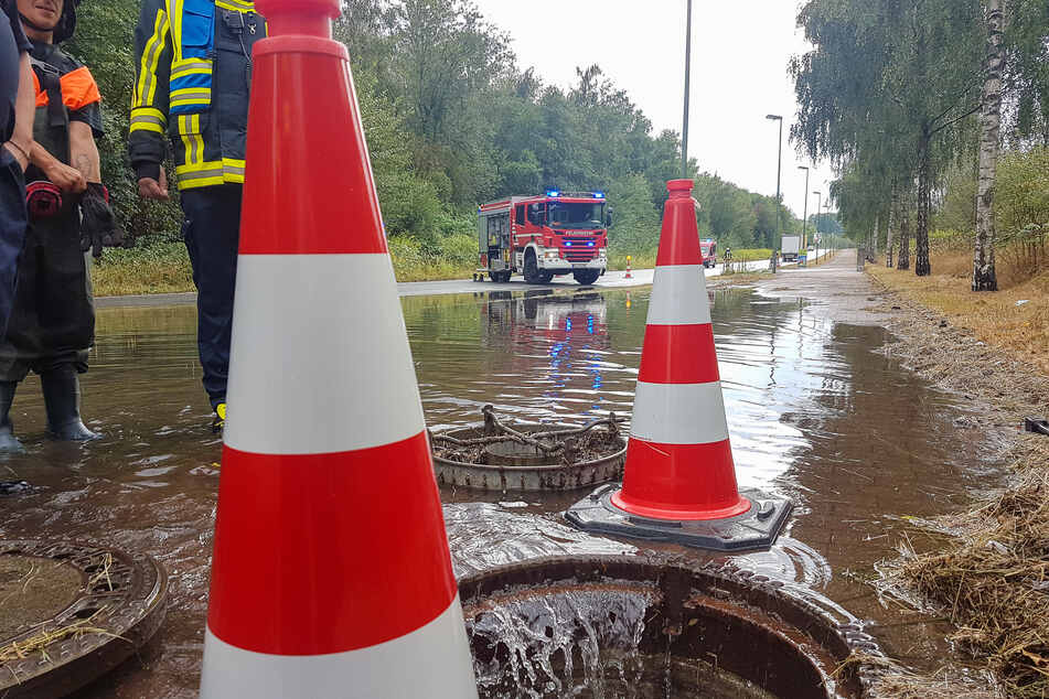Die Wetter-Katastrophe der letzten Woche hatte zu schweren Überflutungen geführt.