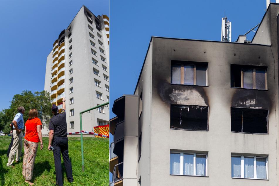 Hochhausbrand mit elf Toten: War es Brandstiftung aus Rache?