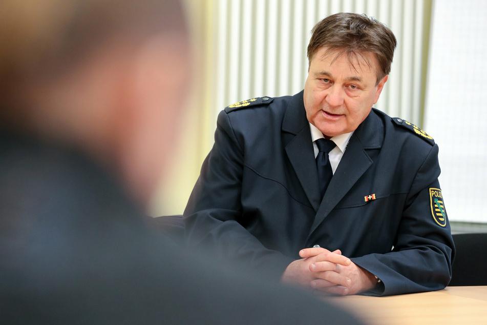 Ex-Polizeichef Bernd Merbitz ist Ziel eines üblen Streichs geworden. (Archivbild)