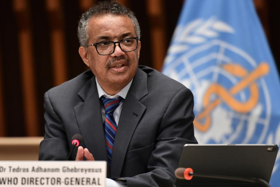 Hat gute Nachrichten: WHO-Generaldirektor Tedros Adhanom Ghebreyesus.