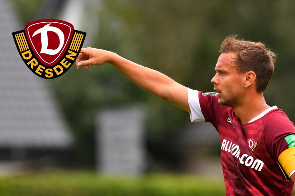 """Dynamos Chris Löwe lobt das Team: """"Charakterlich einwandfrei"""""""