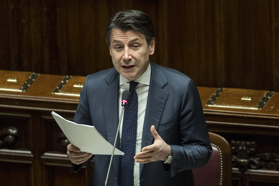 Italiens Ministerpräsident Giuseppe Conte (55). (Archivbild)