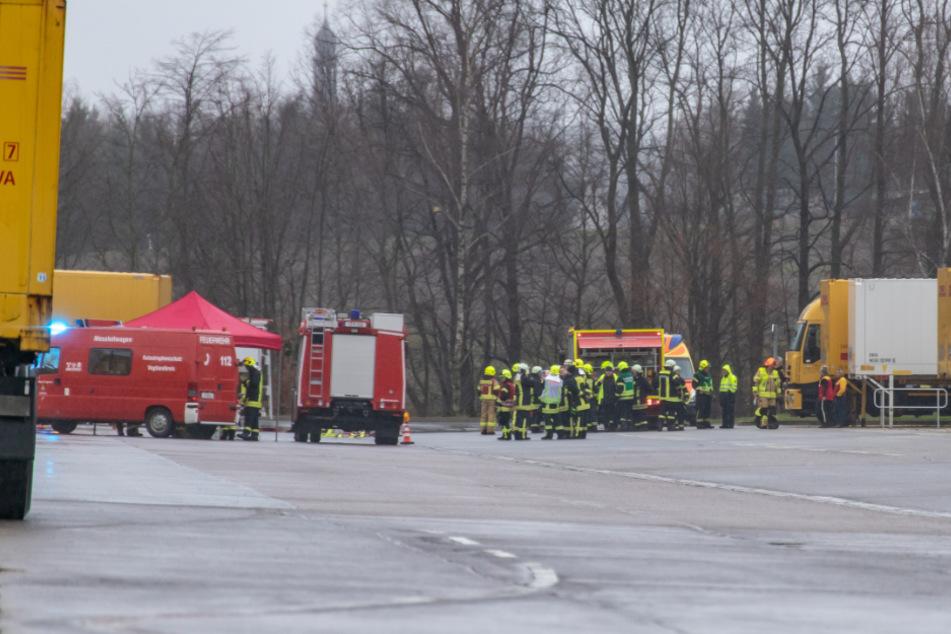 Gefahrguteinsatz bei DHL im Vogtland: Sechs Verletzte