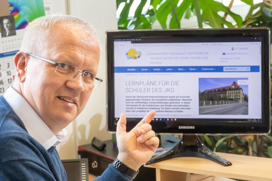 Chemnitzer Lehrer unterrichten jetzt online