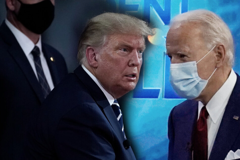 """Trump vs. Biden: So (peinlich) lief das """"TV-Duell"""" zum US-Wahlkampf"""