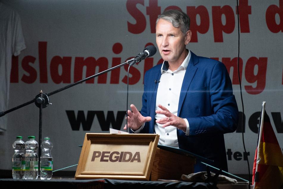 AfD-Frontmann Björn Höcke (49) hat dem umstrittenen CDU-Politiker Hans-Georg Maaßen (58) inhaltliche Nähe zur AfD nachgesagt.