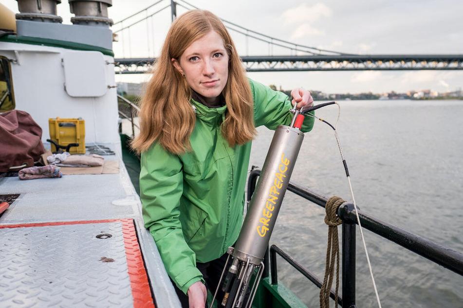 Mikroplastik im Rhein nahe Chemieproduktion: Greenpeace zeigt Verschmutzung