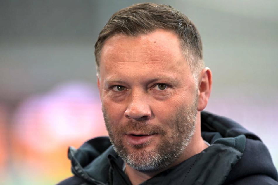Hertha-Coach Pal Dardai (45) begrüßte bei einer Pressekonferenz am Mittwoch das schnelle Handeln von Hertha BSC nach dem Rassismus-Eklat um Jens Lehmann.