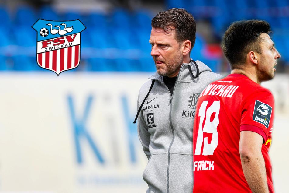 FSV Zwickau: Bekommt Meppen-Coach Schmitt nun von Frick & Co. sein Fett weg?