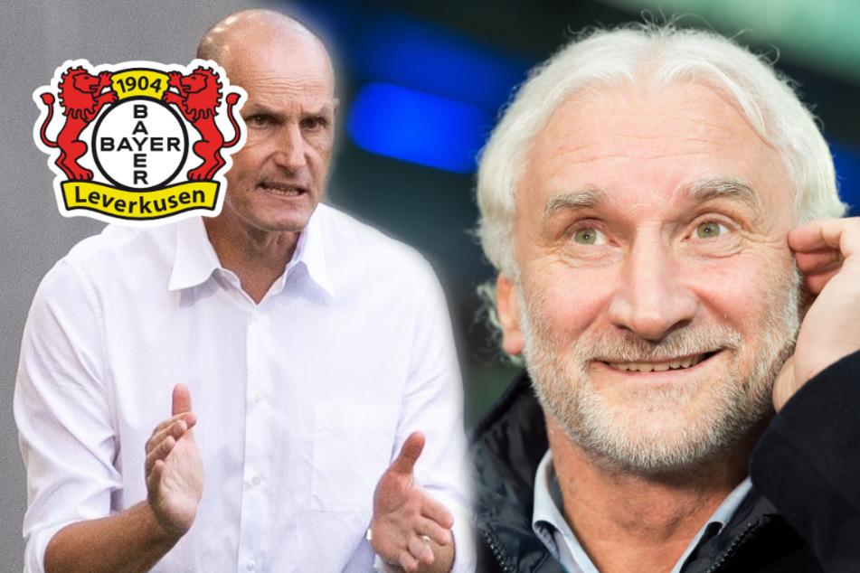 """Rudi Völler freut sich auf Ex-Bayer-Trainer: """"Heute ist unser Verhältnis gut"""""""