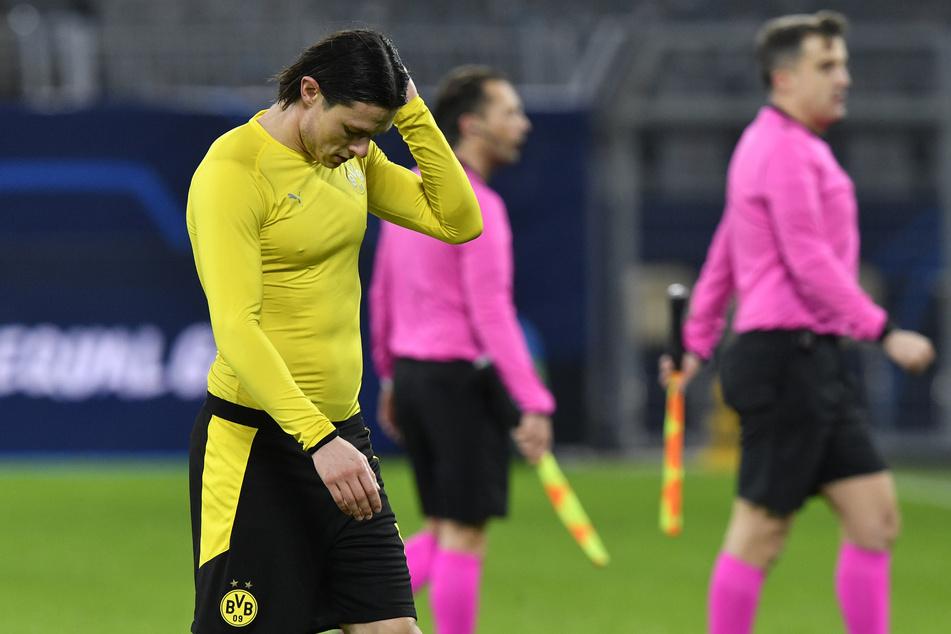 Nico Schulz (27) kann mit seiner Situation bei Borussia Dortmund nicht zufrieden sein.