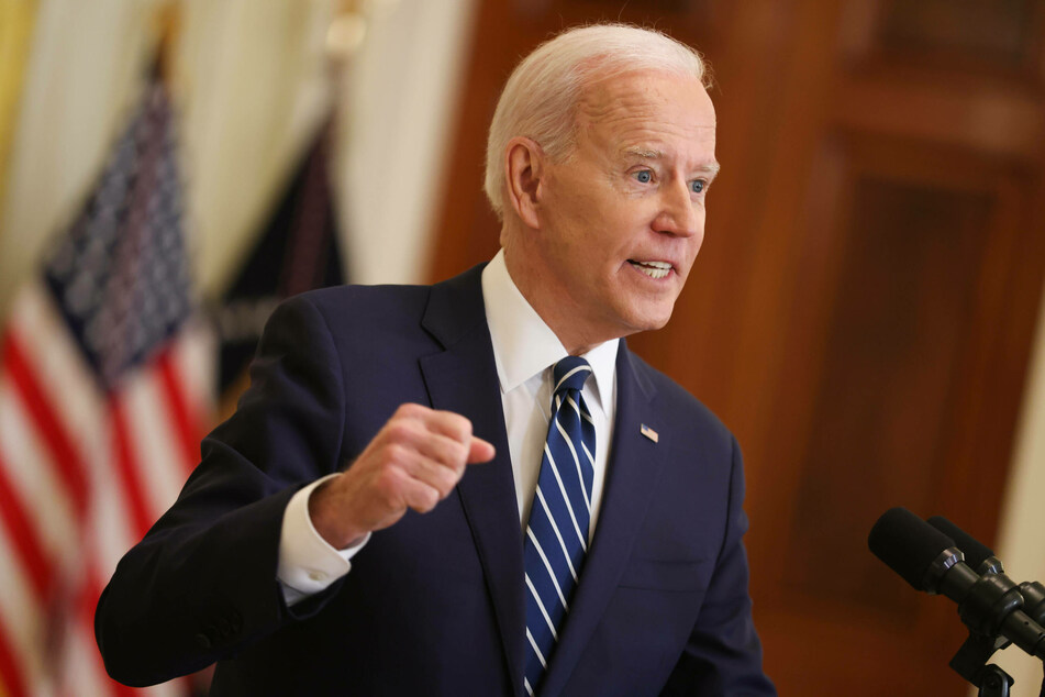 """President Joe Biden deemed efforts by states to make voting in elections more difficult """"sick."""""""