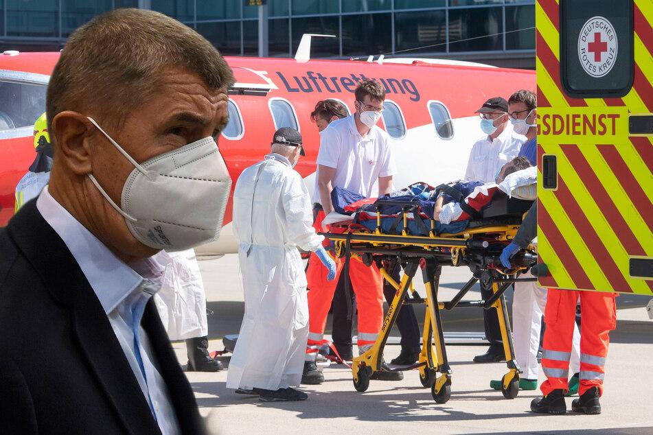Corona-Notstand: Tschechien bittet Sachsen um Hilfe