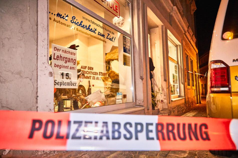 Die Gruppe soll auch für diesen Anschlag in Bad Schandau verantwortlich sein, bei der ein Briefkasten gesprengt wurde.