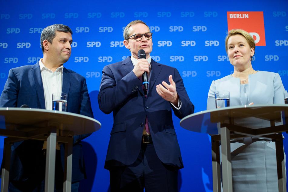Berliner SPD-Doppelspitze soll im Oktober gewählt werden