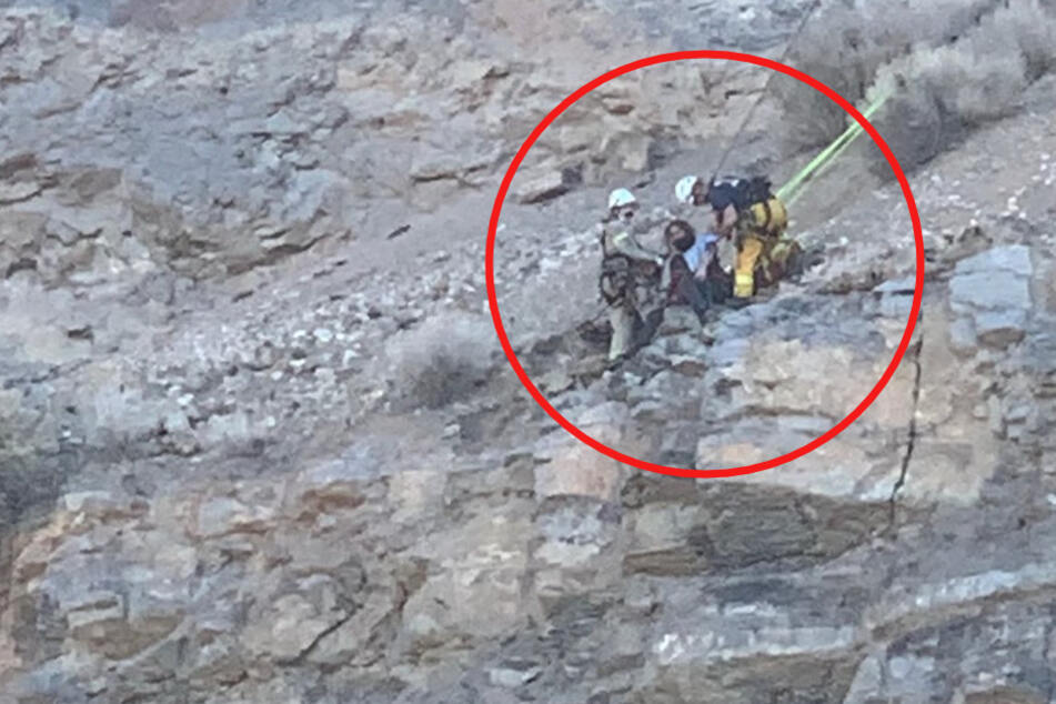 Utah hiker miraculously survives 100-foot fall onto cliff edge!
