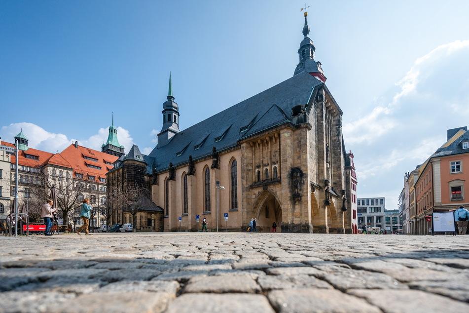 Auch die Jakobikirche in der Innenstadt will Gläubige an Ostern begrüßen.