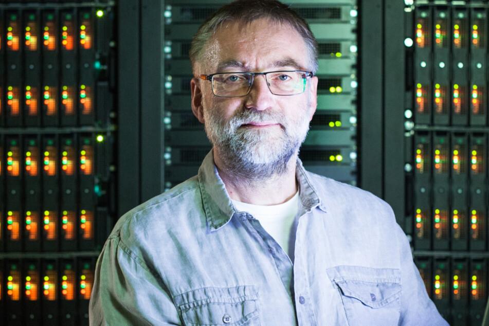 Sieht die TU für den Online-Ansturm gerüstet: Prof. Wolfgang Nagel, Direktor des Zentrums für Informationsdienste und Hochleistungsrechnen.
