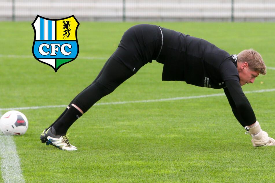 Chemnitzer FC: Darum trainiert Keeper Jakubov weiter allein