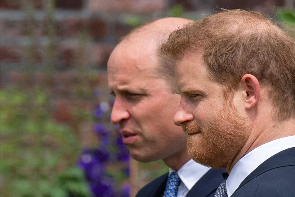 Making nice for the camera? Prince Harry shoots documentary with the royal family