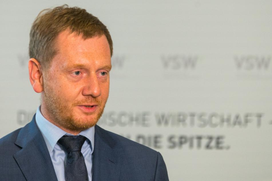 Ministerpräsident Michael Kretschmer (45, CDU).