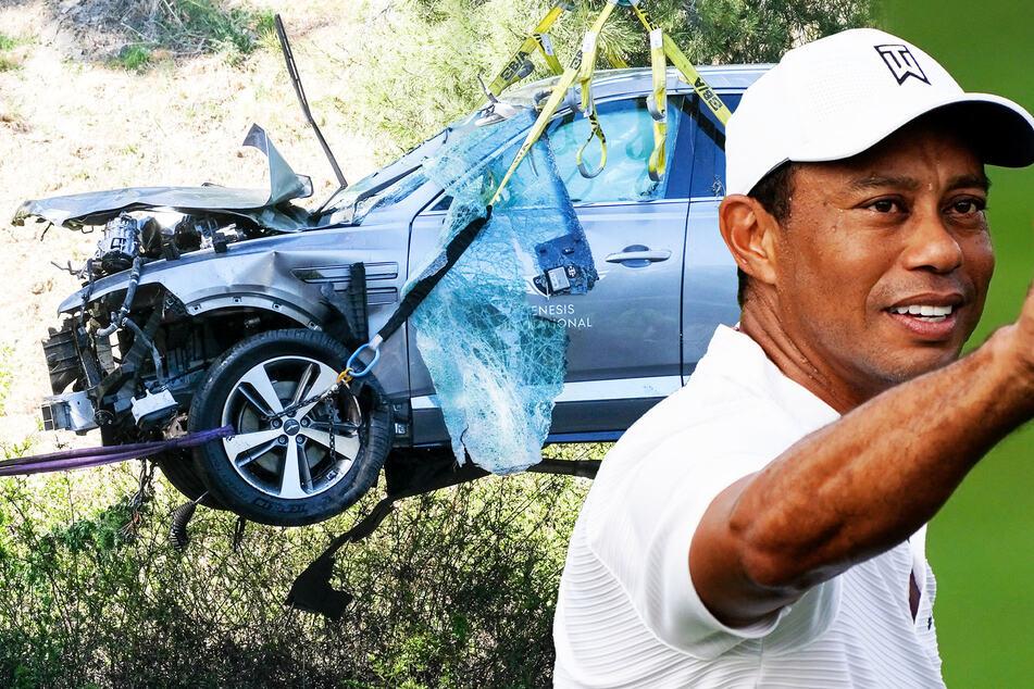 Polizei sicher: Tiger Woods war bei seinem Autounfall viel zu schnell unterwegs!