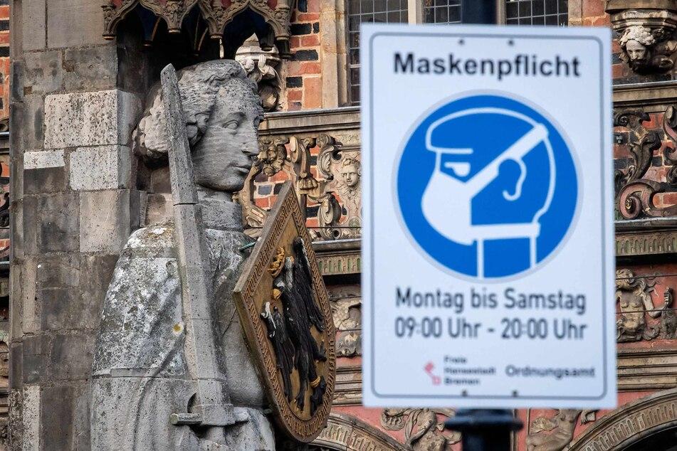 In Bremen wird die Maskenpflicht ab der kommendem Mittwoch im Freien aufgehoben.