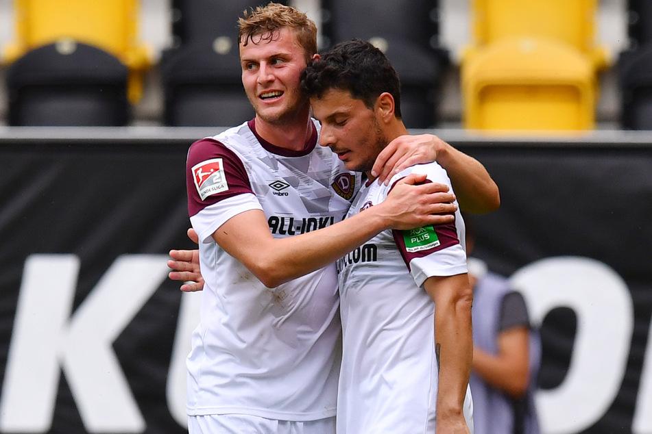 Dass Christoph Daferner (23) und Philipp Hosiner (32) gut harmonieren, haben sie bereits in Liga 3 unter Beweis gestellt. Nun auch eine Etage höher?