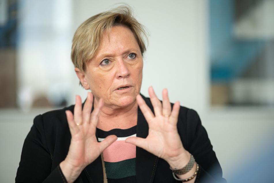Kultusministerin Susanne Eisenmann (56).