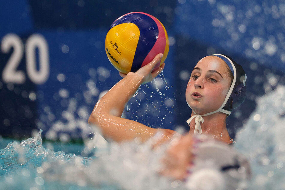 Olympics: US women storm to third-straight water polo gold