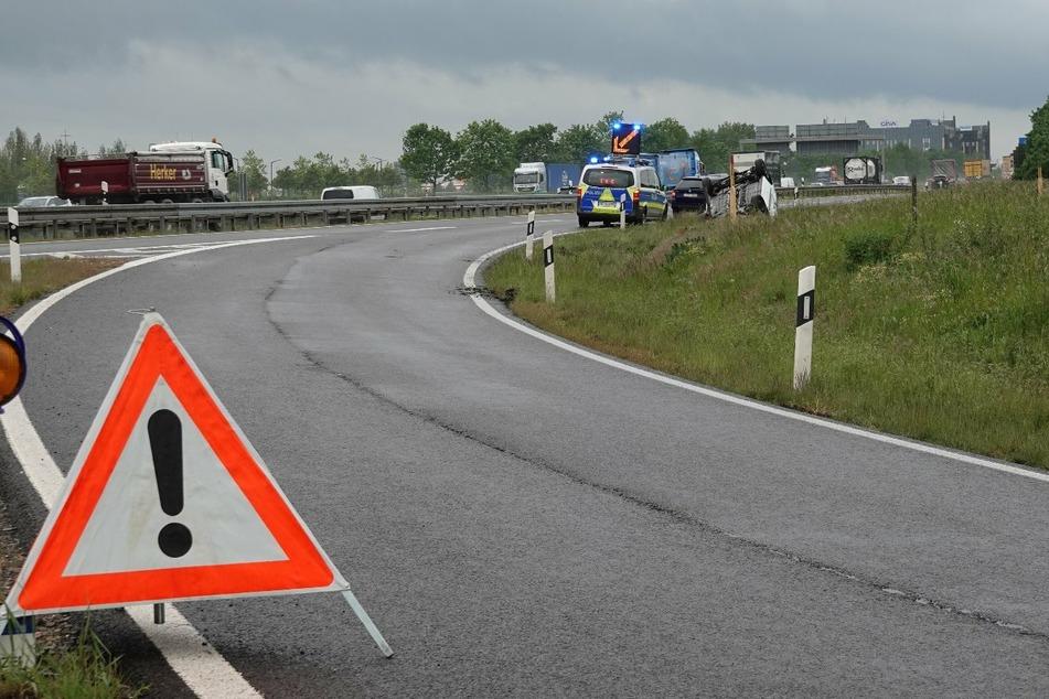 Auf den Autobahnen 9 und 14 (im Foto) ereigneten sich am Montagmorgen zwei Unfälle.