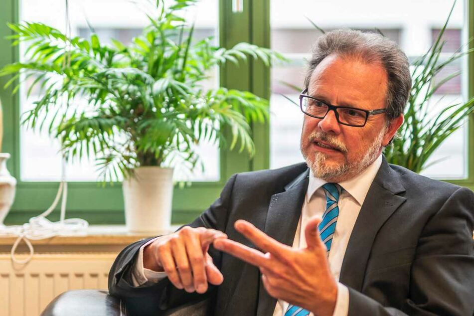"""CDU-Kandidat Frank Heinrich: """"Möchte nicht, dass ein AfD-Kandidat Chemnitz repräsentiert"""""""