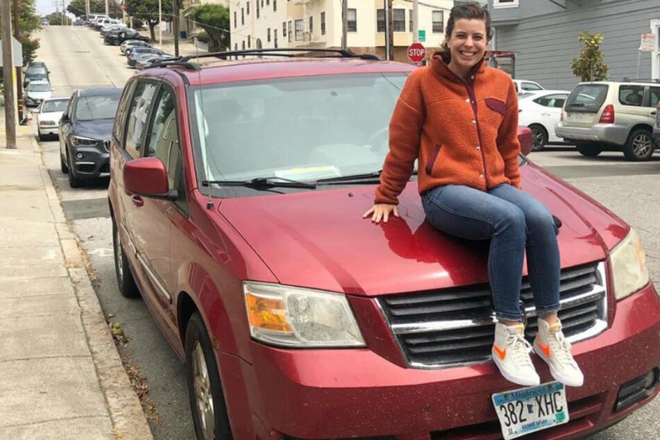 Bei ihrem 14. Tausch erhielt Demi Skipper (29) einen Dodge Caravan. Dabei startete sie mit einer simplen Haarnadel.