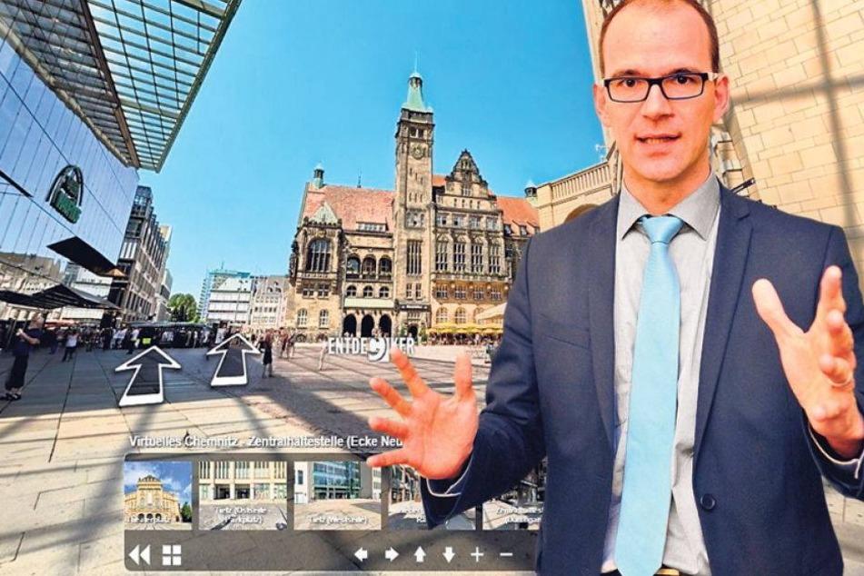 Virtuelle Stadt: Jetzt kommt Chemnitz 3.0.