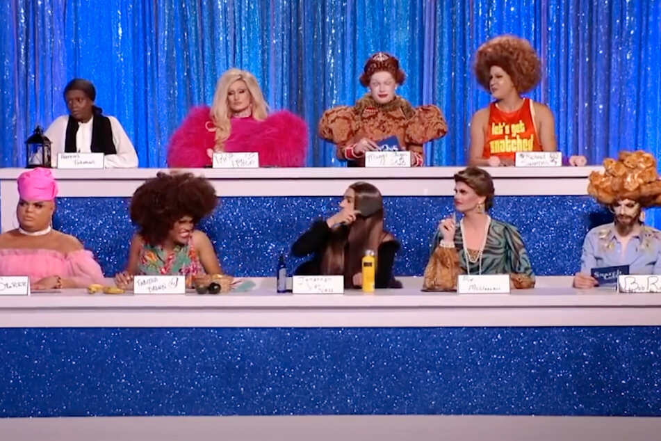"Who ""snatched"" the crown for celebrity impersonations in RuPaul's Drag Race?"