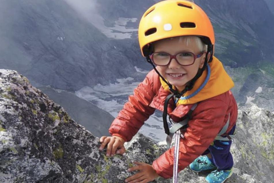 Rekord: Dreijähriger besteigt 3308 Meter hohen Berg
